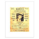 Wanted Creepy Karpis Small Poster