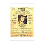 Wanted Creepy Karpis Mini Poster Print