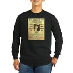 Wanted Creepy Karpis Long Sleeve Dark T-Shirt