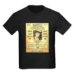 Wanted Creepy Karpis Kids Dark T-Shirt