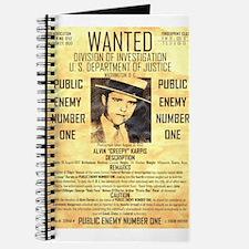Wanted Creepy Karpis Journal