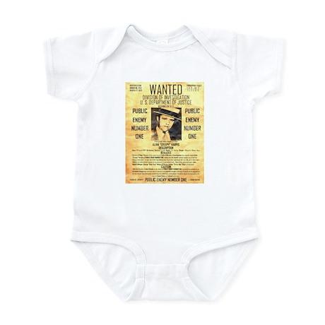 Wanted Creepy Karpis Infant Bodysuit