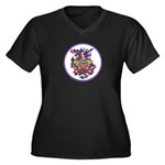 Secret Service OPSEC Women's Plus Size V-Neck Dark