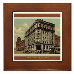 Old Fort Worth Framed Tile