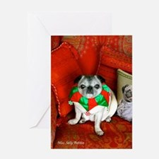 Miss Sally Christmas Greeting Card