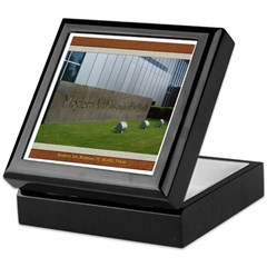 Modern Art Museum Keepsake Box
