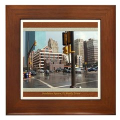 Sundance Square Framed Tile