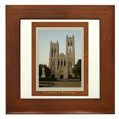 First United Methodist Church Framed Tile