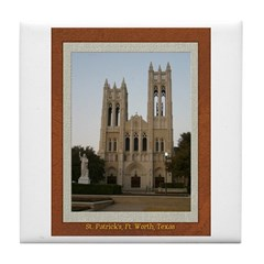 First United Methodist Church Tile Coaster