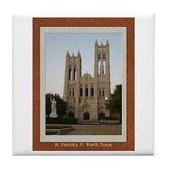 First United Methodist Church Tile Coaster