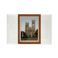 First United Methodist Church Rectangle Magnet