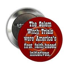 Salem Witch Trials Souvenir Button