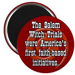 Salem Witch Trials Magnet