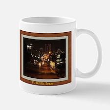 Fort Worth Skyline - Night Small Small Mug