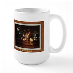 Fort Worth Skyline - Night Mug
