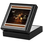 Fort Worth Skyline - Night Keepsake Box