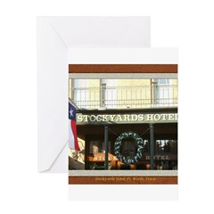 Stockyards Hotel Greeting Card