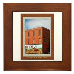 Stockyards #1 Framed Tile