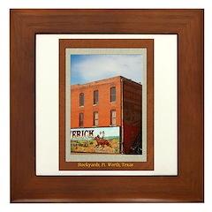 Stockyards #1 Framed Tile