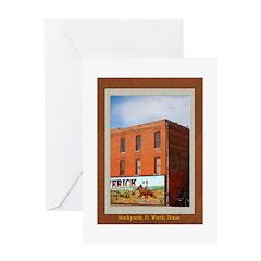 Stockyards #1 Greeting Card