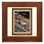 Stockyards #2 Framed Tile