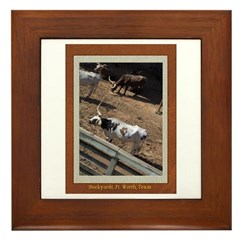 Stockyards #2 Framed Tile