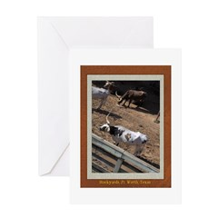Stockyards #2 Greeting Card