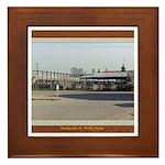 Stockyards #3 Framed Tile
