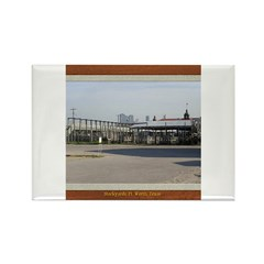 Stockyards #3 Rectangle Magnet