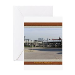 Stockyards #3 Greeting Card