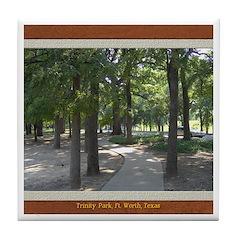 Trinity Park Tile Coaster