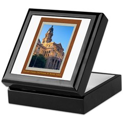 Tarrant County Courthouse Keepsake Box