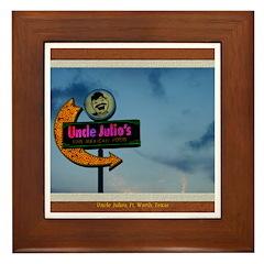Uncle Julio's Framed Tile