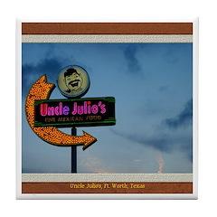 Uncle Julio's Tile Coaster