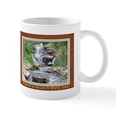 Waterfall at the Zoo Mug