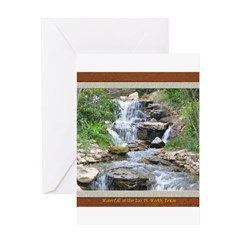 Waterfall at the Zoo Greeting Card