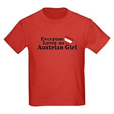 Everyone Loves an Austrian Girl T