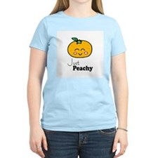 Just Peachy Cute Peach Tshirts and Gifts T-Shirt