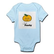 Just Peachy Cute Peach Tshirts and Gifts Infant Bo