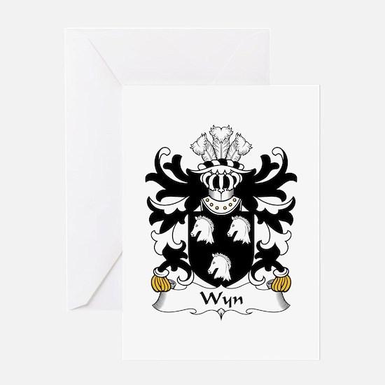 Wyn (Cadwaladr, of Montgomeryshire) Greeting Card