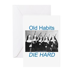 Old Habits Greeting Cards (Pk of 20)