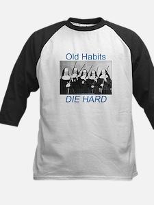 Old Habits Kids Baseball Jersey