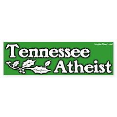 Tennessee Atheist Bumper Sticker