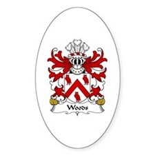 Woods (of Tal-y-llyn, Anglesey) Oval Decal