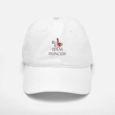Texas Princess Baseball Baseball Cap