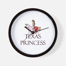 Texas Princess Wall Clock