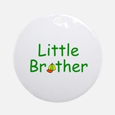 Little Brother Tshirts and Gifts Ornament (Round)
