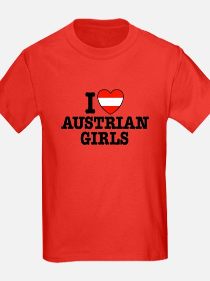 I Love Austrian Girls T