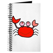 Cute Red Crab Tshirts and Gifts Journal