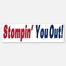 NY GIANTS Stompin you out Bumper Bumper Bumper Sticker